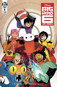 DISNEY BIG HERO 6 THE SERIES #1 COMIC -GURIHIRU COVER -IDW PUBLISHING - 9.6 NM+