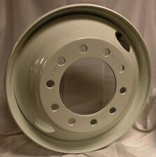 Commercial Truck Trailer 22.5 X 8.25 Steel Wheels White Hub Pilot 2 Hand Hole
