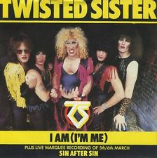 """TWISTED SISTER I Am I'm Me 1983 UK 7"""" vinyl Single EXCELLENT CONDITION"""