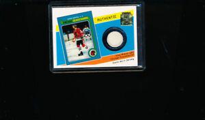 Stan Mikita 2001-02 TOPPS Archives Hockey Jersey Card Chicago Blackhawks