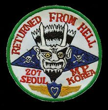 US Army 207th Military Police Seoul Korea Patch S-24