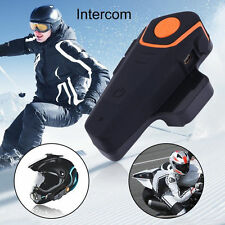 1000m BT-S2 Motorcycle Bluetooth Helmet Headsets Interphone Intercoms+FM Radios