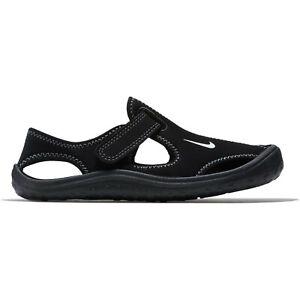 Nike Sunray Protect PS Sandale Kinderschuh Sport Badeschuhe Badesandale Schwarz