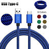 Type-C USB Data Snyc FAST Charger Charging Cable For Samsung Galaxy S9 S8 Note 8