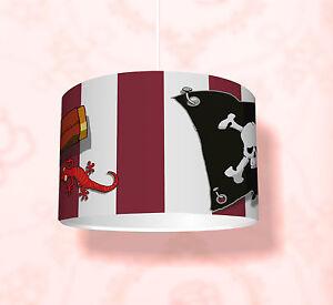 """Kinderzimmer Lampenschirm """"Piraten"""" KL30 - einsetzbar als Steh-/Deckenlampe"""