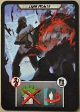 City of Horror - Lawn Mower Card [Card & Board Game Piece] NEW
