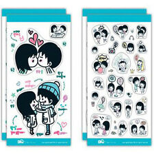 5 X Cute DIY Diary Stationery Decorative Adhesive  Sweet Hip-Hop Sticker  Albums
