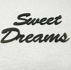 Sweet Dreams Painted Wooden Sign Various Sizes Painted Shabby Chic Wall Decor