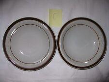 2 MSI Brown Monterrey Rim Fruit/Dessert (Sauce) Bowls - 5 3/4 inch Diameter