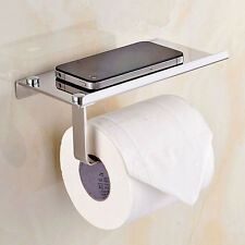 Stainless Steel Tissue Toilet  Holder Rack Paper  Roll Stand  Phone Display  Hot