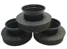 """9"""" Diameter Floating Pond Planters/Islands, 3-Pack - Value Pack for Water Plants"""