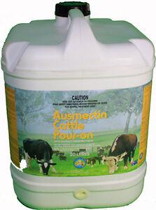 Ausmectin Cattle Drench Pour-On 20 Litre (Equiv Ivomec)