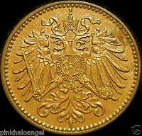 Austria Austro Hungarian Empire 1911 Heller Coin Rare