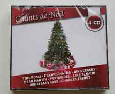 4 CD COFFRET NEUF CHANTS DE NOEL Sinatra Rossi Crosby Fernandel 80 TITRES NEUF !