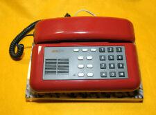 """* SIP """" TELEFONO Mod. SIRIO PLUS/ ROSSO - Giugiaro Design con attacco a scatto *"""