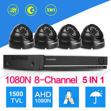 8CH 1080N CCTV DVR 1500TVL Outdoor Night Vision Home ​Security Camera System​