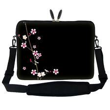 "15.6"" Laptop Computer Sleeve Case Bag w Handle & Shoulder Strap Asus Acer 2901"