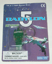 Babylon 5 Narn Transport Keychain 1995 New Sealed Jms Warner Bros Dorda Toys