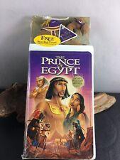The Prince of Egypt VHS Kids Movie DreamWorks Bean Bag Camel Sealed 1999