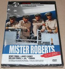 Mister Roberts (1955) / John Ford / Henry Fonda / James Cagney / DVD SEALED
