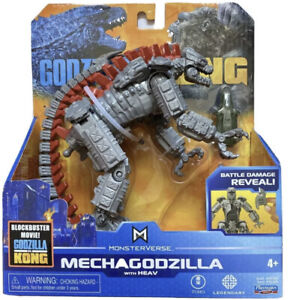 "Monsterverse MECHAGODZILLA with HEAV 6"" King Kong vs Godzilla NEW NIB 2021"