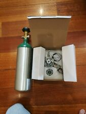 Co2 tank and regulator for aquarium or home brew carbonate drinks