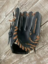 Will Leather Goods Black Leather Baseball Glove NEW