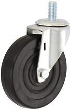"E.R. Wagner Stem Caster 115 lbs Capacity, 4"" Wheel Dia, 1"" Wheel Width"