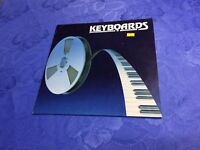 KEYBOARDS (LP) HOMERECORDING & COMPUTER [1988 NEW WAVE SYNTH SAMPLER *RARE*] EX