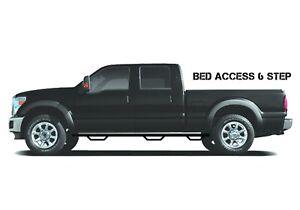 N-Fab F09100QC-6-TX Wheel To Wheel Nerf Step Bar w/Bed Access Fits 09-14 F-150