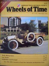Studebaker Cab Forward, LINN, Pacific Logging, Truck refrigeration history