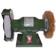 Meule de table avec pierre moulin et brosse 150mm 150 watt 2950 tours/min