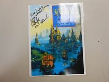 SIGNED X 2 cover print of The Far Kingdoms by Allan Cole and Chris Bunch! RARE!!
