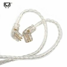 KZ Headphones ZSX/ZSN Pro/ZS10 Pro/AS16 Silver Plated Upgrade Cable 2PIN Pin