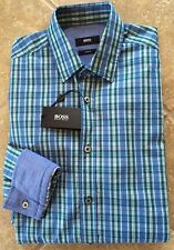Hugo Boss Orange EdipoE Button Down Shirt Mens XXL Blue Dandelion ...