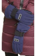 $150 STELLA McCARTNEY Adidas AH9255 Winter SKI Gloves INK NAVY / Black ( Large )
