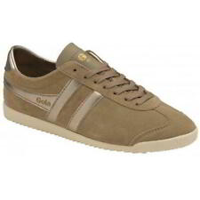 Gola Bullet Pearl Womens Ladies Brown Suede Retro Trainers Shoes Size 4-8