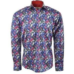 Mens Claudio Lugli Cascading Leaf Print Shirt CP6195
