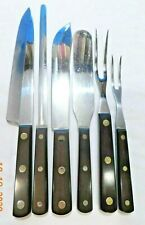 6pc CUTCO CUTLERY KNIFE SET FIRST GENERATION