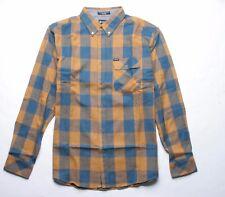 MATIX Dylan Flannel Shirt (M) Gold