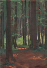 [Anonymus] : Waldinneres (Studie), um 1900/1914
