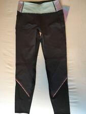 Ivivva Mesh With The Best Pant Coal Grey Gray Pink Purple Sz 14 Lululemon Sz 4