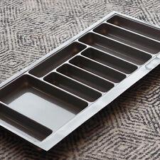 Grey Gloss Cutlery Tray for 1000mm Grass Nova Pro Drawer | Kitchen Storage