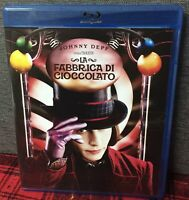 La Fabbrica di Cioccolato Blu Ray Johnny Depp Tim Burton N
