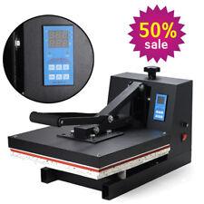 "CA 15""x15"" 1600W T-Shirt Heat Press Machine Transfer Printing Machine Clamshell"