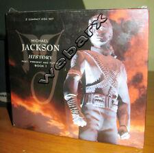 MICHAEL JACKSON HISTORY BOOK I [2 CD] NUOVO SIGILLATO DIGIPACK EDITORIALE