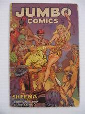 JUMBO #150 VG+  Sheena Jungle Queen!