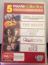 5 MOVIE COLLECTION - MASTER AND COMMANDER (4 DISC) (R4-PAL-LIKE NEW) - DVD #944