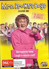 Mrs. Brown's Boys Season One.... 2 Disc .DVD...Reg 4