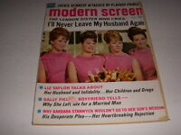 Vintage MODERN SCREEN Magazine, April, 1968, LENNON SISTERS Cover, SALLY FIELD!